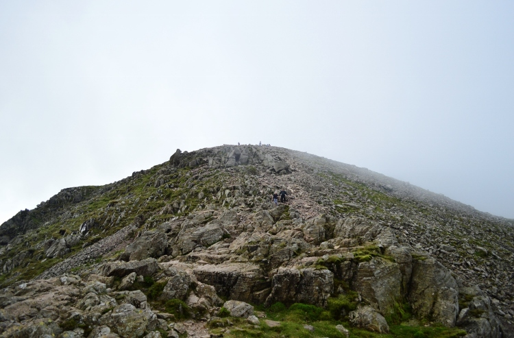 Summit of Scarfell Pike