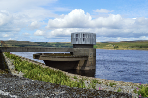 Grimwith Reservoir in the Yorkshire Dales