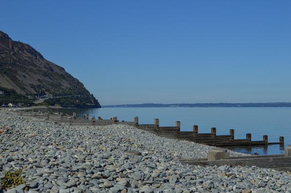 The coast at Penmaenmawr
