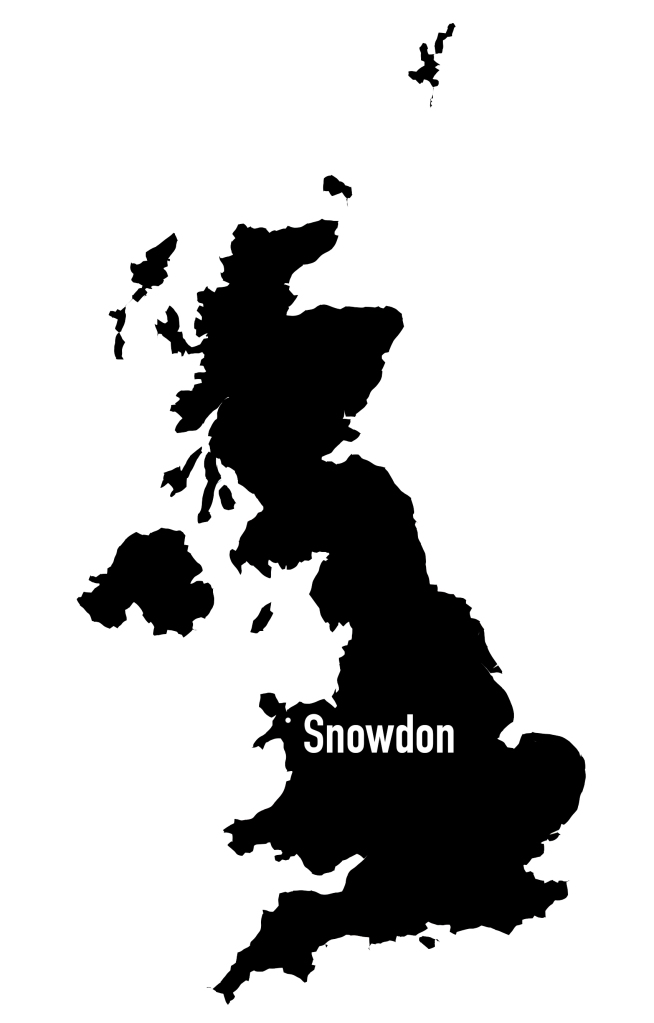 Map UK, Snowdon