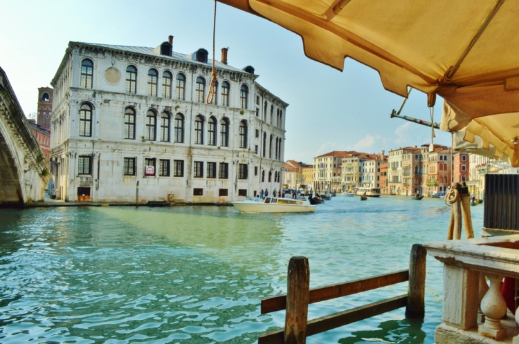 Venice, the grand canal narrative places